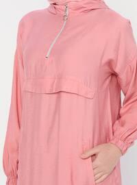 Dusty Rose - Stripe - Unlined - Viscose - Suit
