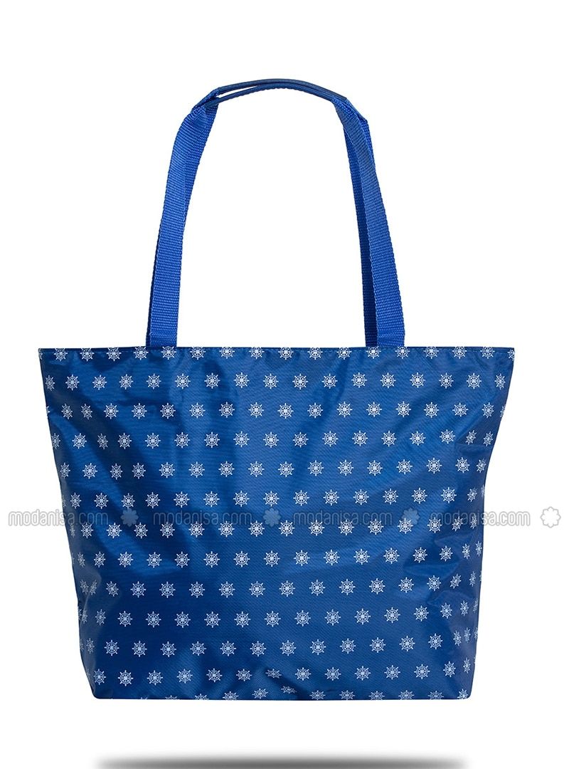 Satchel - Navy Blue - Beach Bags