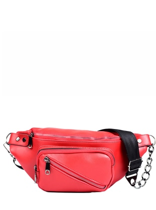 Red - Satchel - Bum Bag