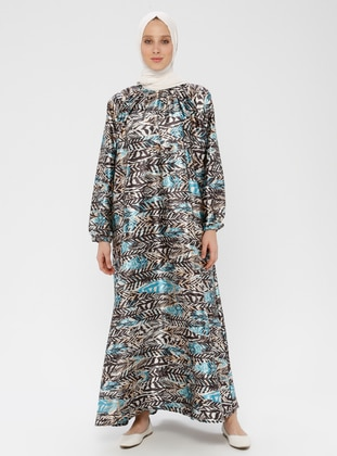 Blue - Multi - Unlined - Prayer Clothes