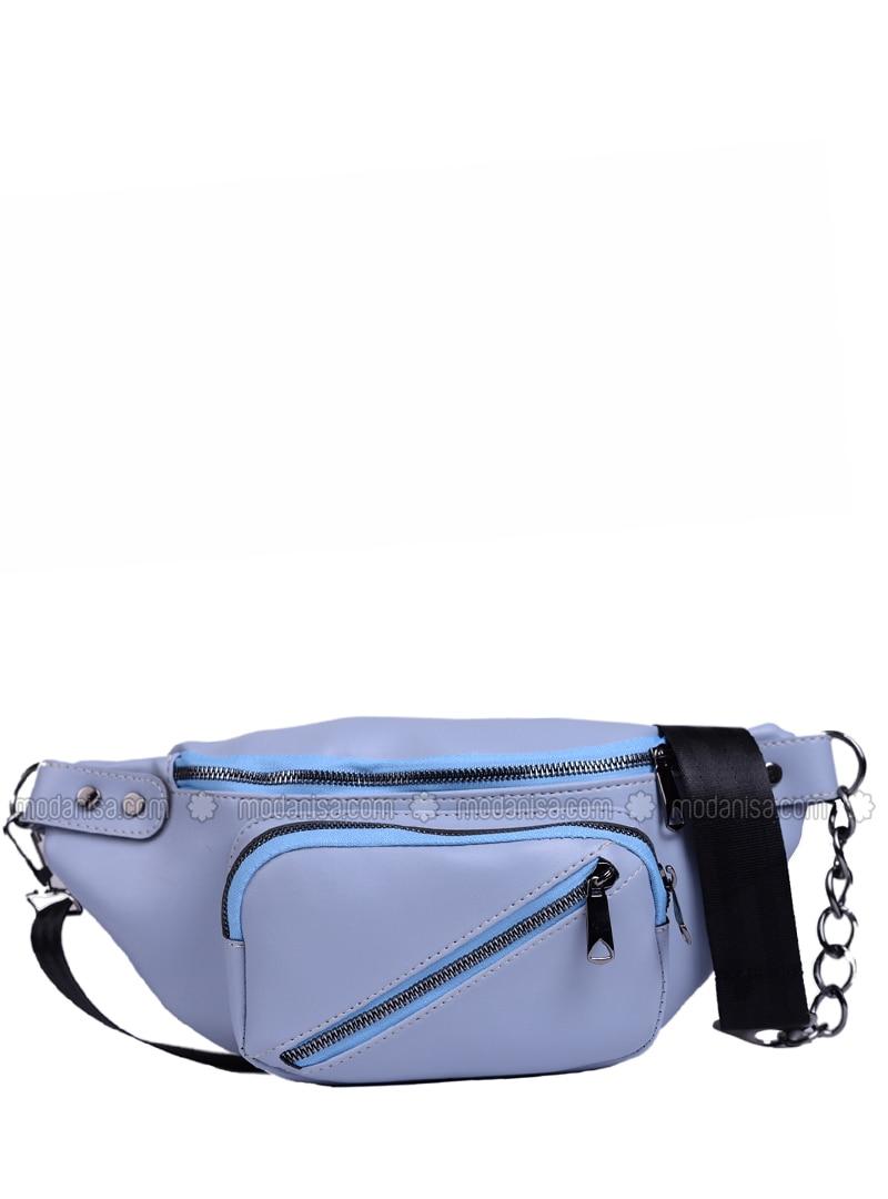 Baby Blue - Satchel - Bum Bag