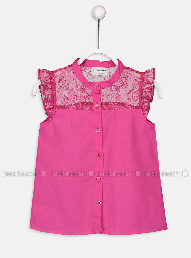 Fuchsia - Girls` Shirt