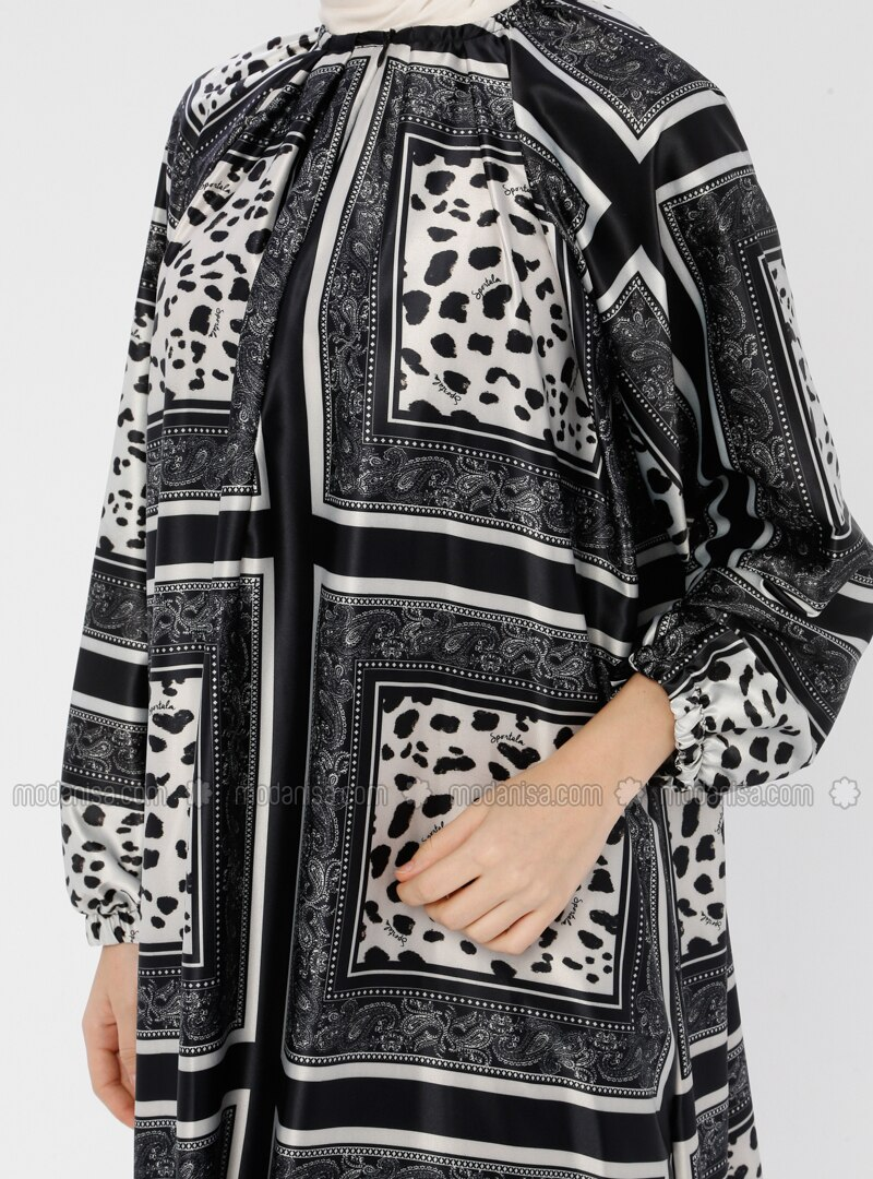Black - Multi - Unlined - Prayer Clothes