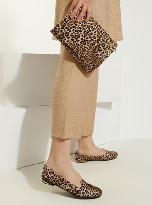 Leopard - Flat - Suit - Just Shoes