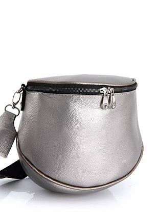 Silver tone - Satchel - Crossbody - Bum Bag