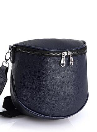 Navy Blue - Satchel - Crossbody - Bum Bag