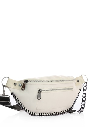 Cream - Satchel - Crossbody - Bum Bag