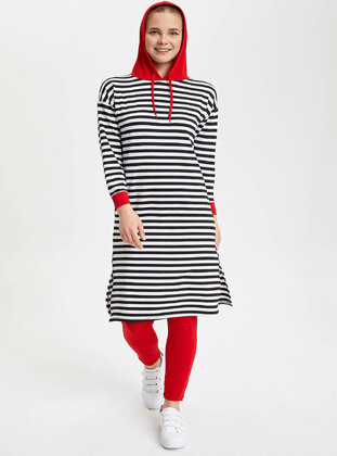 Red - Girls` Tunic - DeFacto