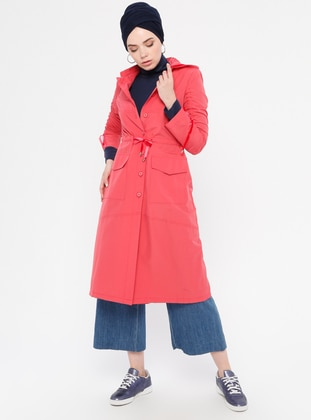 Coral - Cotton - Topcoat