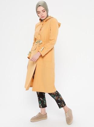 Yellow - Cotton - Topcoat