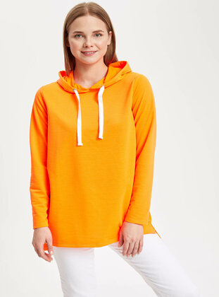 Orange - Girls` Tunic