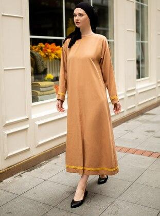 Brown - Dress