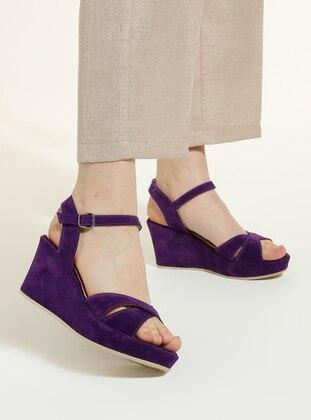 Purple - High Heel - Heels