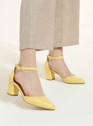 Yellow - High Heel - Heels