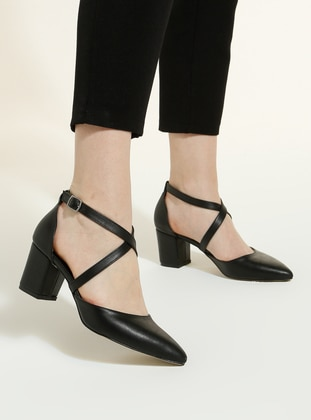 Black - High Heel - Heels - Snox