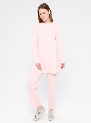 Cotton - Pink - Loungewear Suits