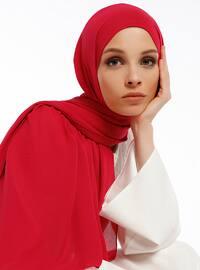 Aden Cotton Shawl - Red