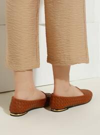 Tan - Flat - Suit