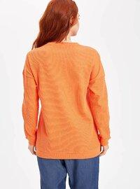 Orange - Girls` Tunic