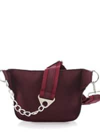 Maroon - Satchel - Crossbody - Bum Bag