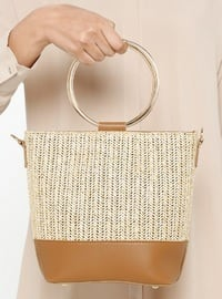 Beige - Tan - Shoulder Bags