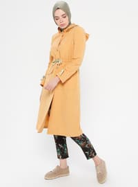 Yellow - Cotton - Topcoat