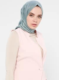 Powder - Fully Lined - Shawl Collar - Vest