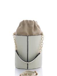 Beige - Shoulder Bags