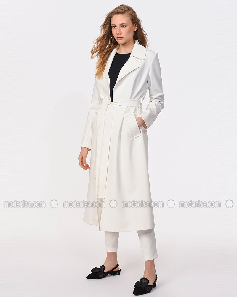 Ecru - Trench Coat