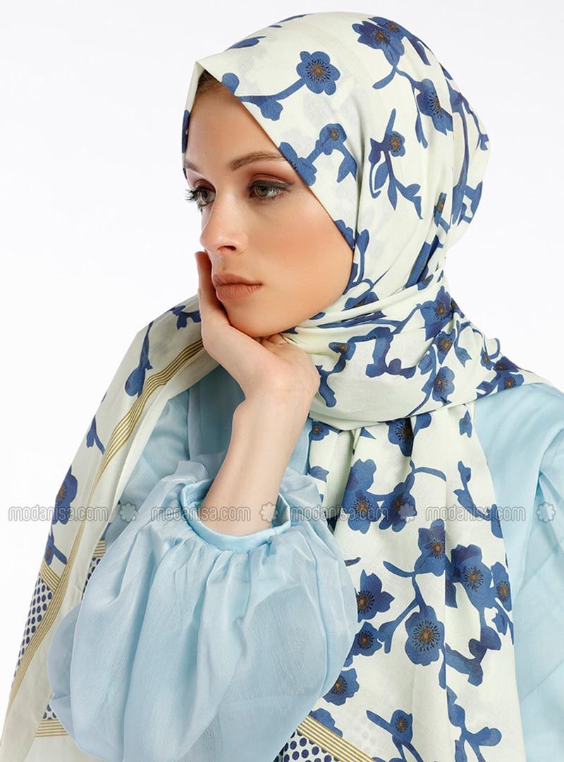 Viola Cotton Shawl - Multicolour