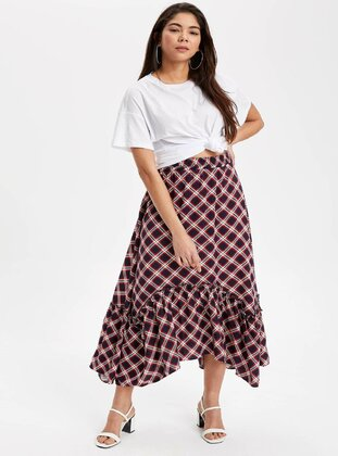 Navy Blue - Girls` Skirt - DeFacto