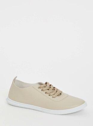 Beige - Girls` Shoes
