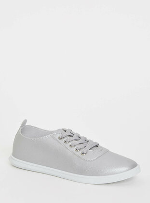 Gray - Girls` Shoes