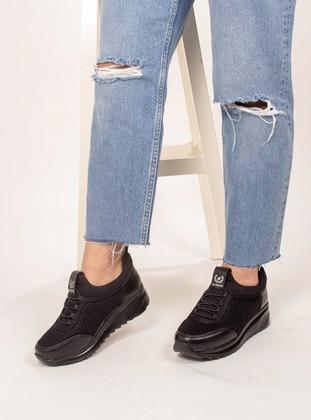 Black - Sport - Sports Shoes - AKER