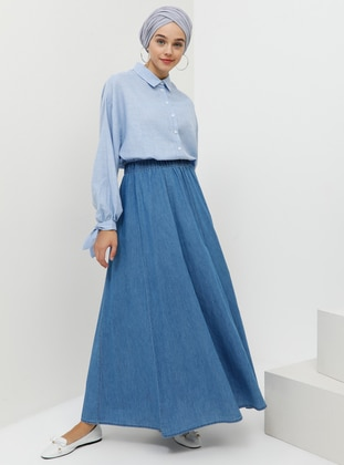 c0f1a61fc Shop Muslim Skirts: Maxi Skirts, Pleated Skirts & More | Modanisa