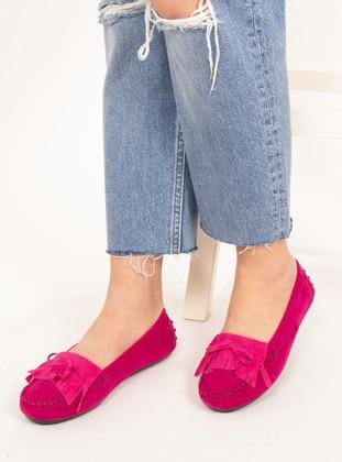 Fuchsia - Flat - Flat Shoes - AKER