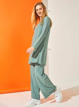 Mint - Unlined - Suit