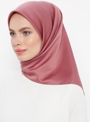 Dusty Rose - Plain - Rayon - Scarf