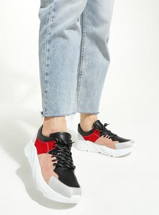 Black - Pink - Maroon - Sport - Sports Shoes - - Rollerbird