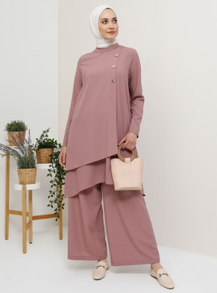 Dusty Rose - Unlined - Suit - Tavin