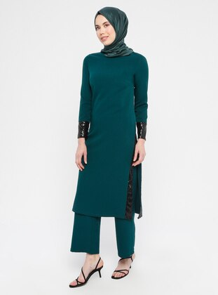 Green - Emerald - Unlined - Suit