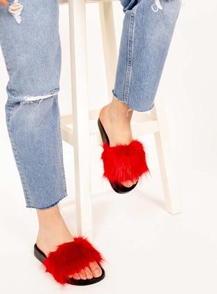 Red - Sandal - Slippers - AKER