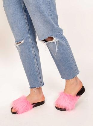 Pink - Sandal - Slippers - AKER