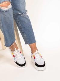 Black - White - Sport - Sports Shoes - AKER