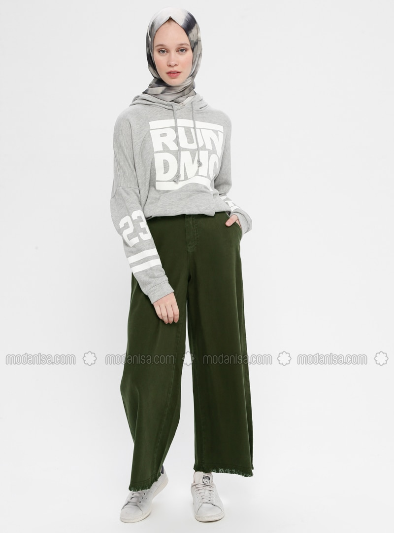 Khaki - Denim - Pants