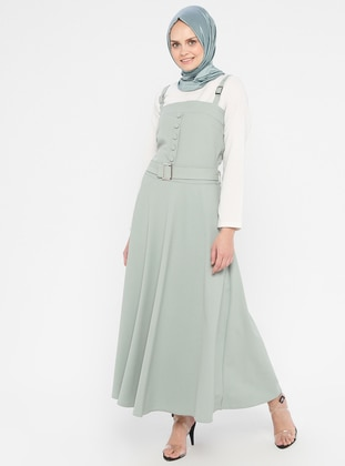 Mint - Unlined - Cotton - Dress