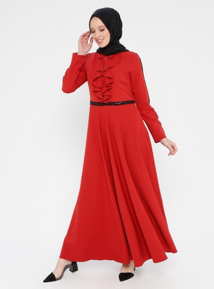 Coral - Point Collar - Unlined - Dress