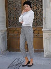 Smoke - Multi - Cotton - Pants