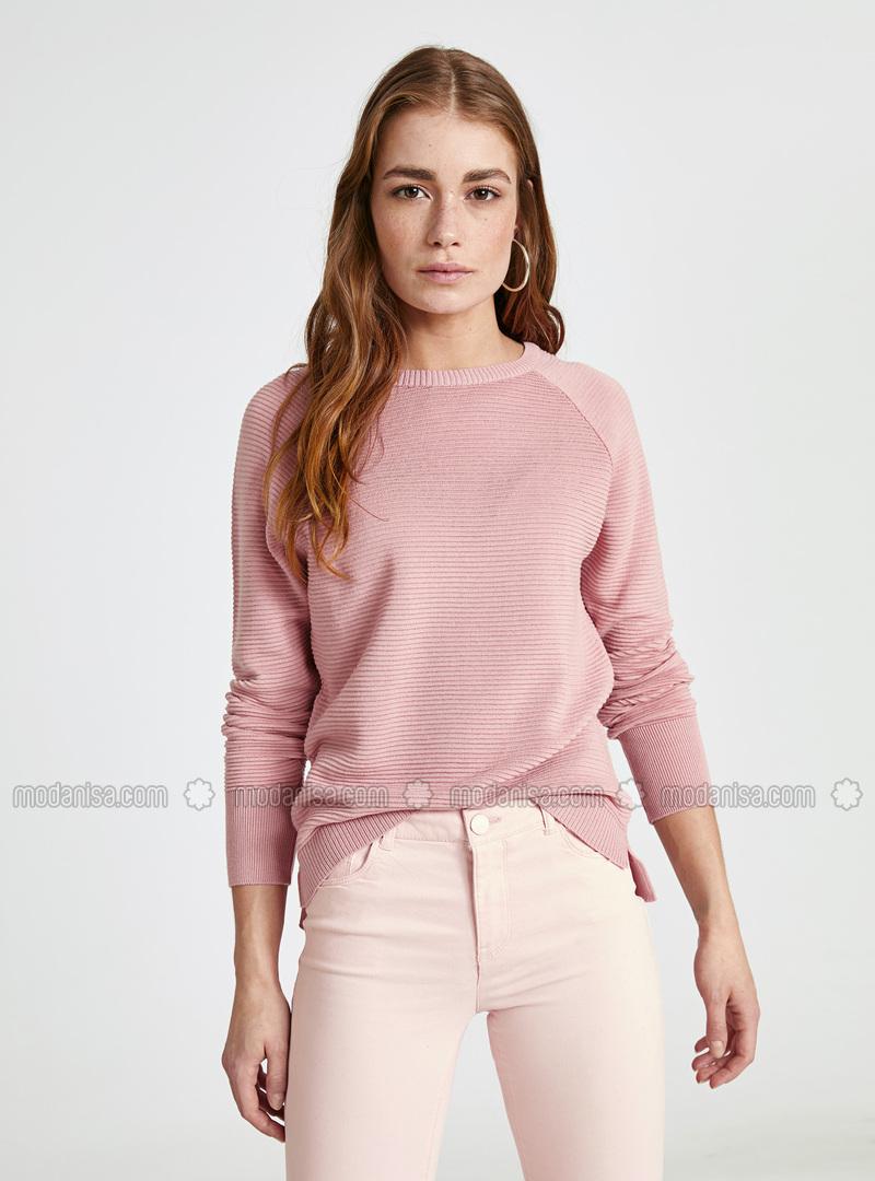 Crew neck - Pink - Jumper