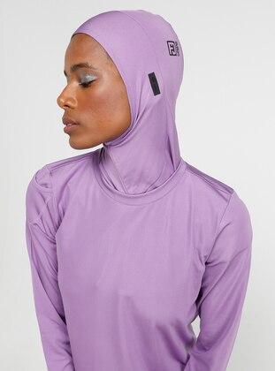 Lilac - Sports Bonnet